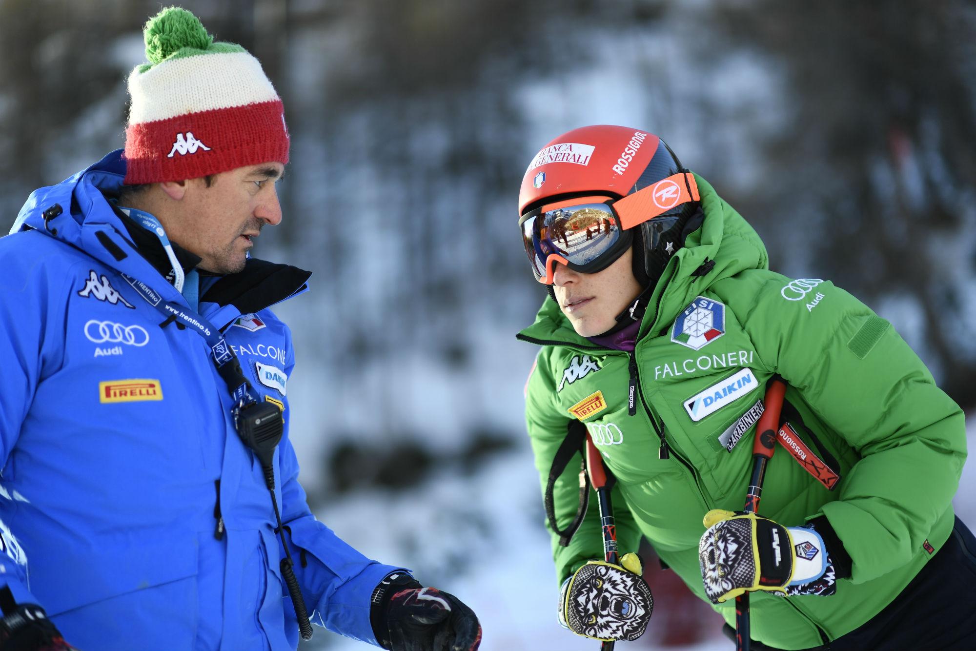 Matteo Guadagnini e Federica Brignone (@Zoom agence)