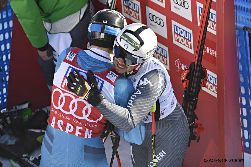 Kjetil Jansrud e Peter Fill ©Agence Zoom