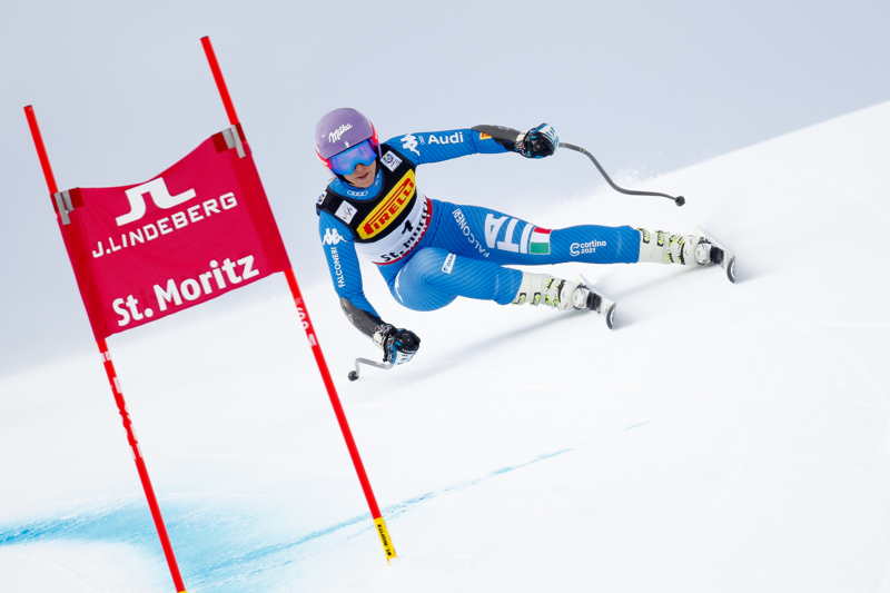 ST. MORITZ, SWITZERLAND Ð FEBRUARY 07: Elena Curtoni of Italy competes during the FIS Alpine Ski World Championships Women's Super-G on February 07, 2017 in St. Moritz, Switzerland (Photo by Alexis Boichard/Agence Zoom)