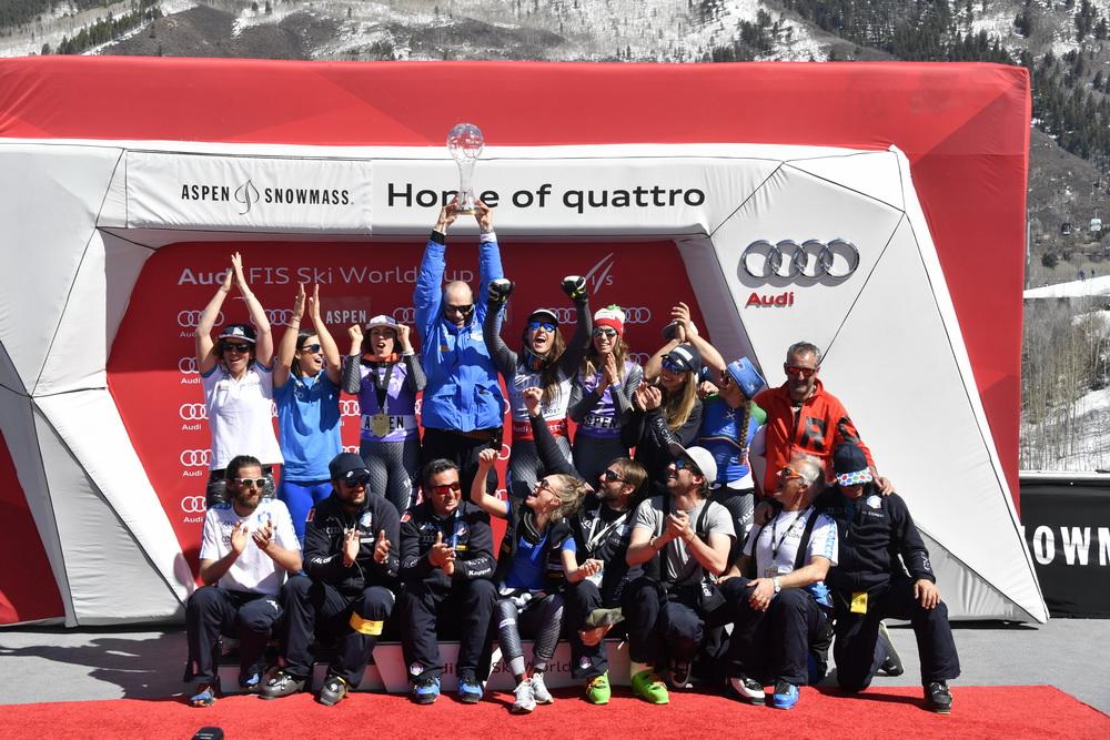 Il trionfo dell'Italia ad Aspen ©Agence Zoom
