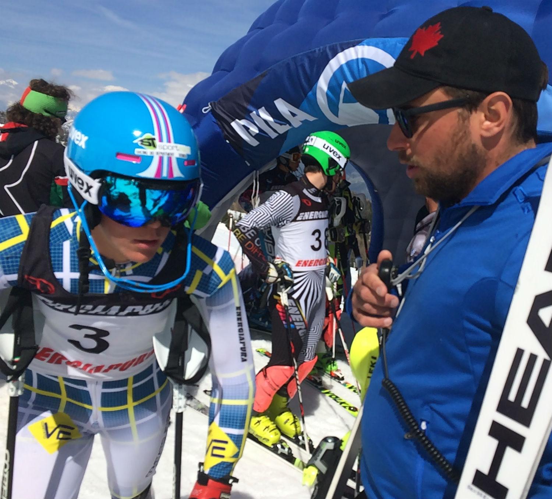 Federico Scussel e Simone Manfroi dello Ski College Falcade ©Gabriele Pezzaglia