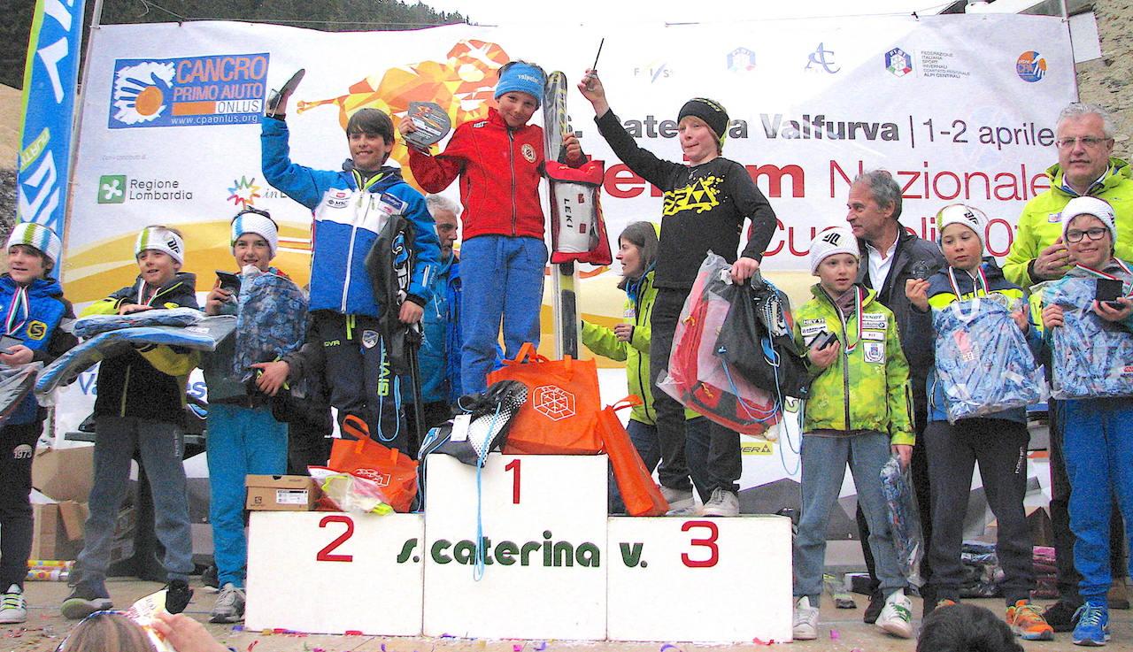 Podio slalom 2006 maschile