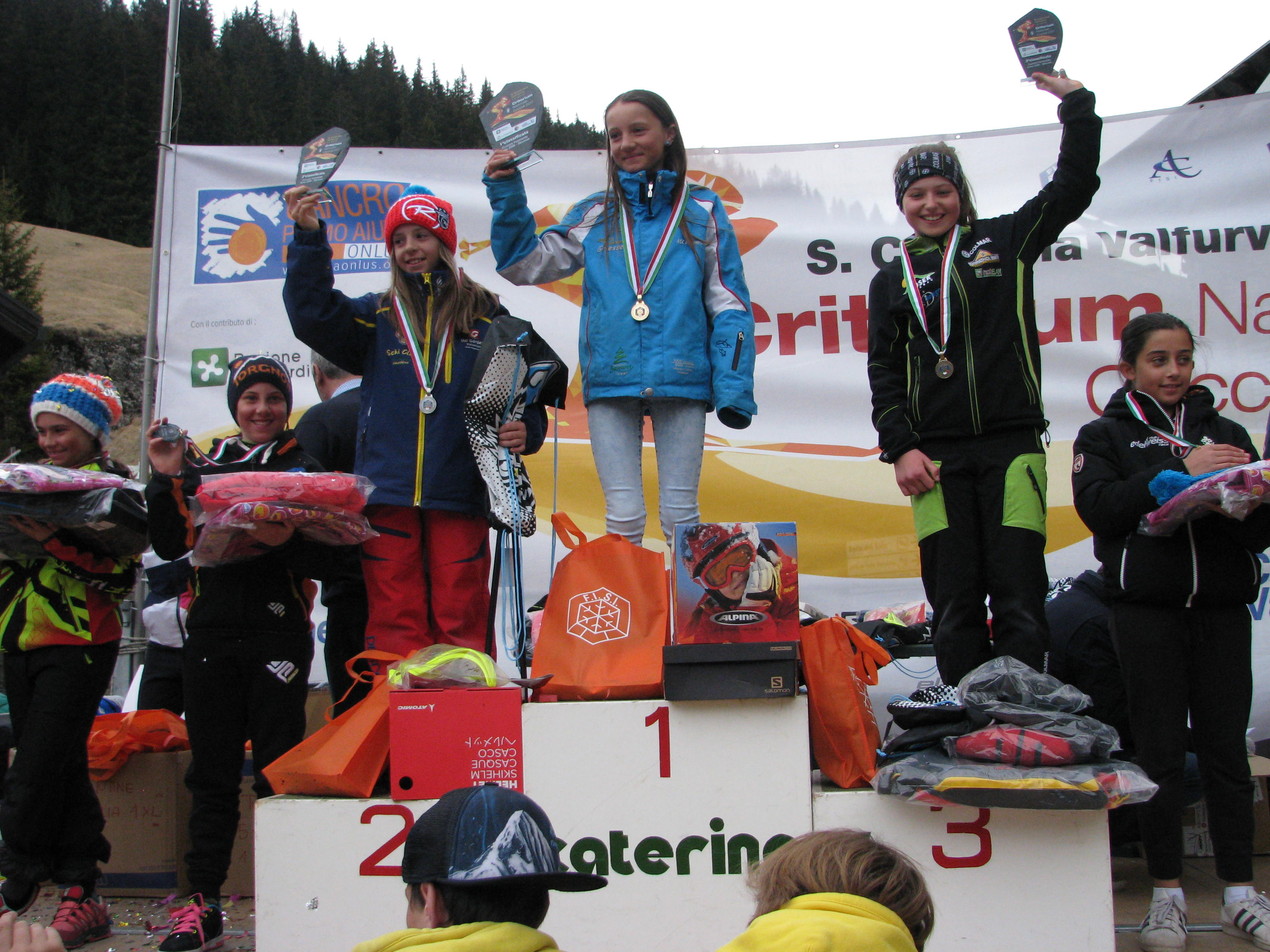 Podio femminile skicross 2006