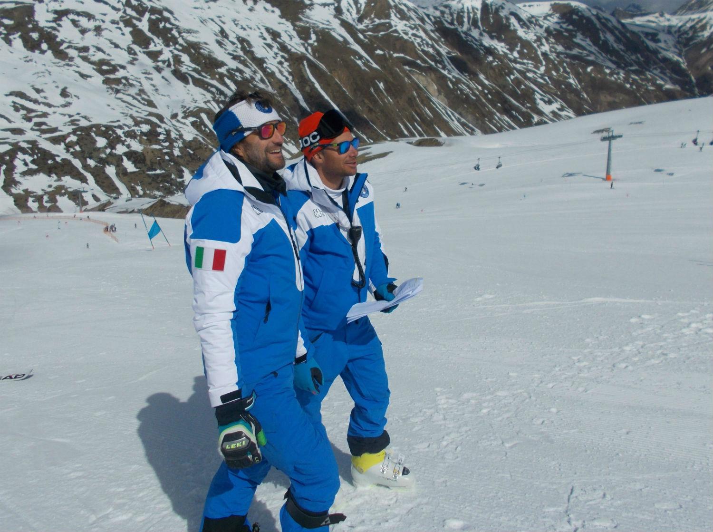 Gli Istruttori in pista Edoardo Zardini e Claudio Tiezza ©Gabriele Pezzaglia