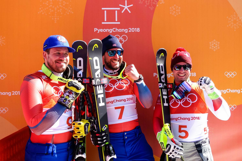 Norvegia olimpica svindal anticipa jansrud in discesa for Olimpici scandinavi